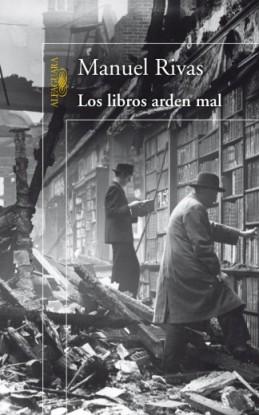 Los libros arden mal. Portada.