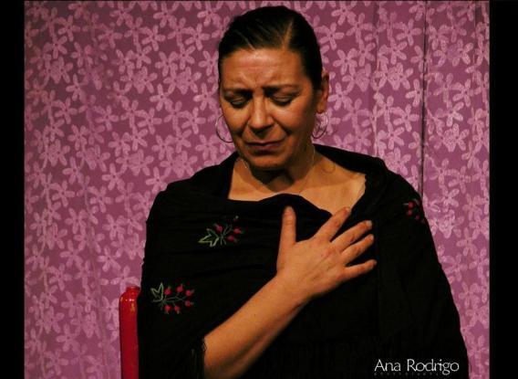 Olga Mansilla. © Fotografía: Ana Rodrigo.