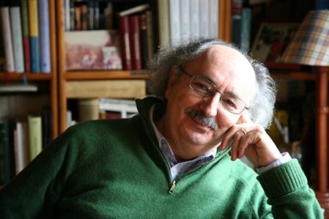 El poeta Antonio Colinas. Fotografía: Eduardo Margareto.