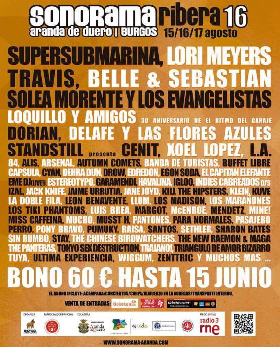 1 cartel sonorama