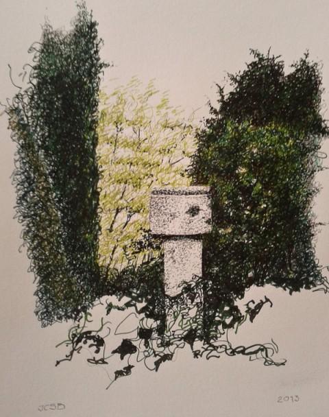 'El Romeral', detalle. Por José Carlos Sanz Belloso.