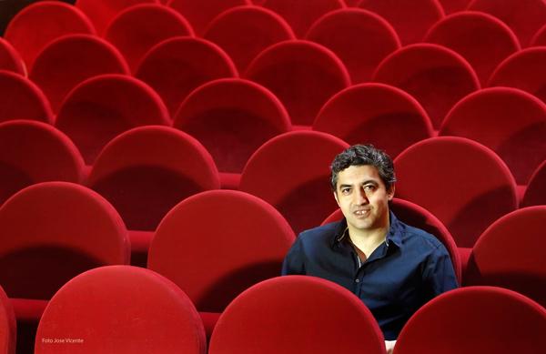 Manuel J. González, director de la Feria de Teatro de Castilla y León-Ciudad Rodrigo. Fotografía: Vicente.