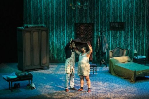 La obra está protagonizada por Tomás Fernández Alonso y Ramón Monje. Foto: Aitor Audicana.
