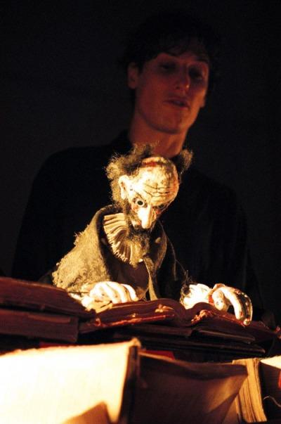 """""""Quijote"""" de Bambalina Titelles, el día 30 en el Corral de Anuncia."""