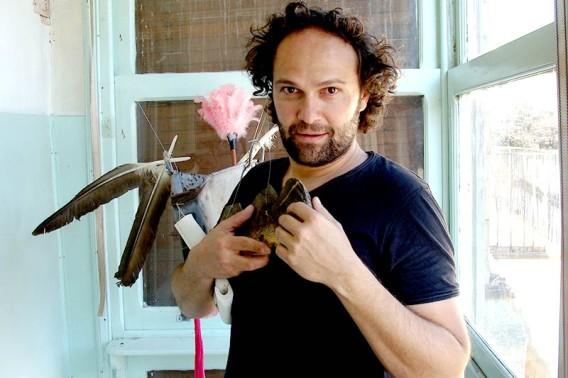 Álex Rodríguez, el nuevo director del Festival de Teatro Alternativo de Urones de Castroponce. Foto: L. Fraile.