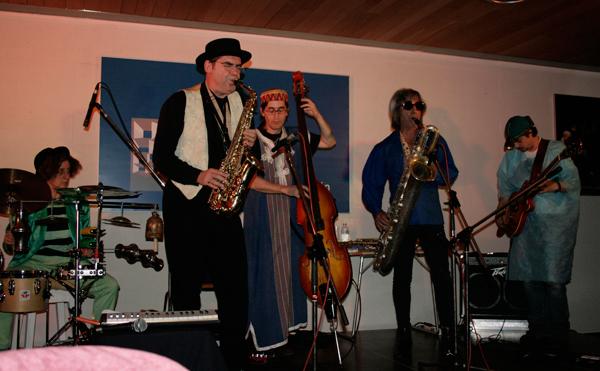 El grupo Dadajazz durante una de sus actuaciones.