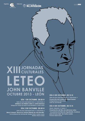 cartel leteo 2013