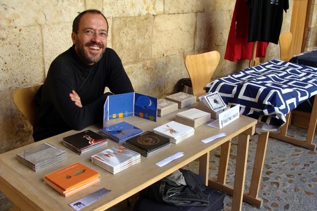 Fernando Fuentes, uno de los impulsores de Producciones Efímeras. Foto: L. F.