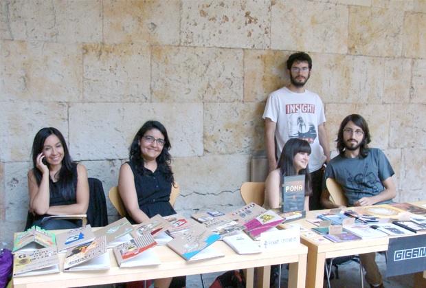 Meninas Cartoneras y Colectivo Gigante. Foto: L. F.