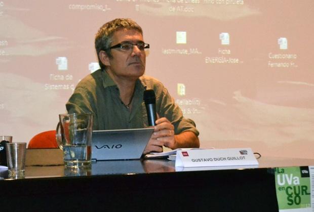 Gustavo Duch, autor del libro que se presentará durante las jornadas. Foto: David Ruyet.