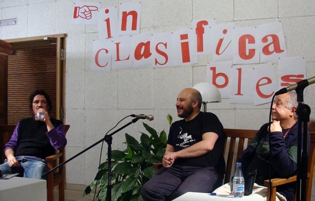 Mesa redonda celebrada en la primera edición de Inclasificables en Salamanca. Fotografía: L. F.