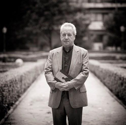 John Banville, en León. © Fotografía: José Ramón Vega.