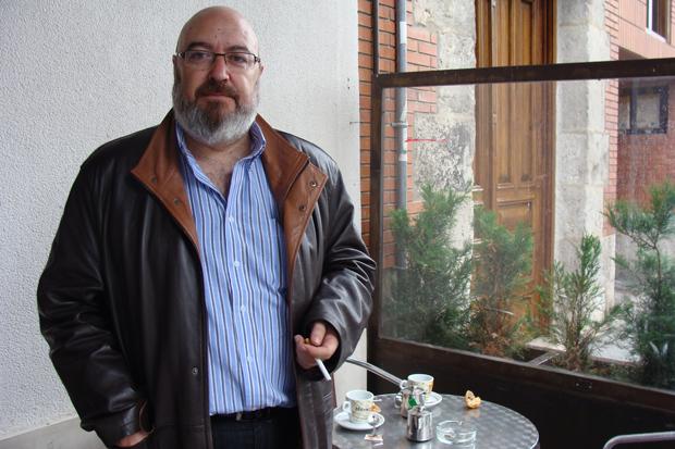 José Ramón Rebollada, director del documental `Poder contra verdad´. Foto: Laura Fraile.