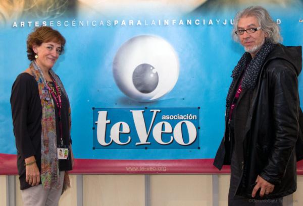 Ana Gallego y Jacinto Gómez, coordinadores de los Encuentros Te Veo que se celebran del 9 al 12 de noviembre en Valladolid. Fotografía: Gerardo Sanz.