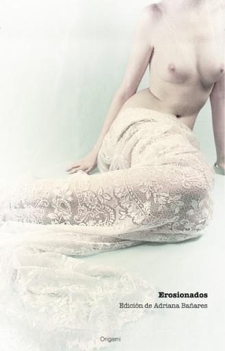 Portada de 'Erosionados'. Imagen y diseño de portada: Julia D. Velázquez.