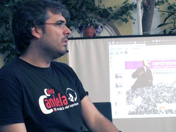 Emmanuel Rodríguez, autor del libro. Foto: Fundación de los Comunes.
