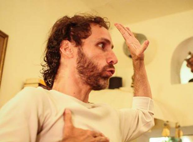 Diego Mattarucco, coordinador del primer `Poetry Slam´ de Valladolid.