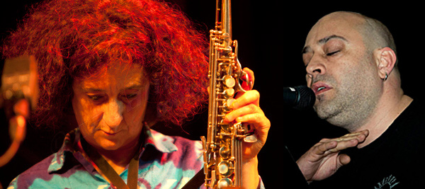 La coompositora y música Chefa Alonso y el poeta Víctor M. Díez forman el dúo Morse.
