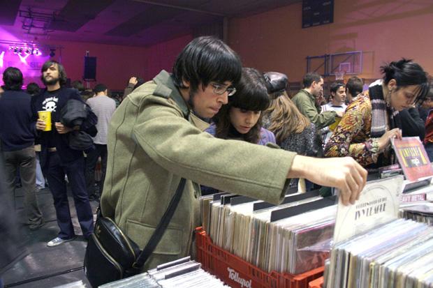 Entre las actividades paralelas habrá un mercado de discos. Foto: Óscar de la Huerga.