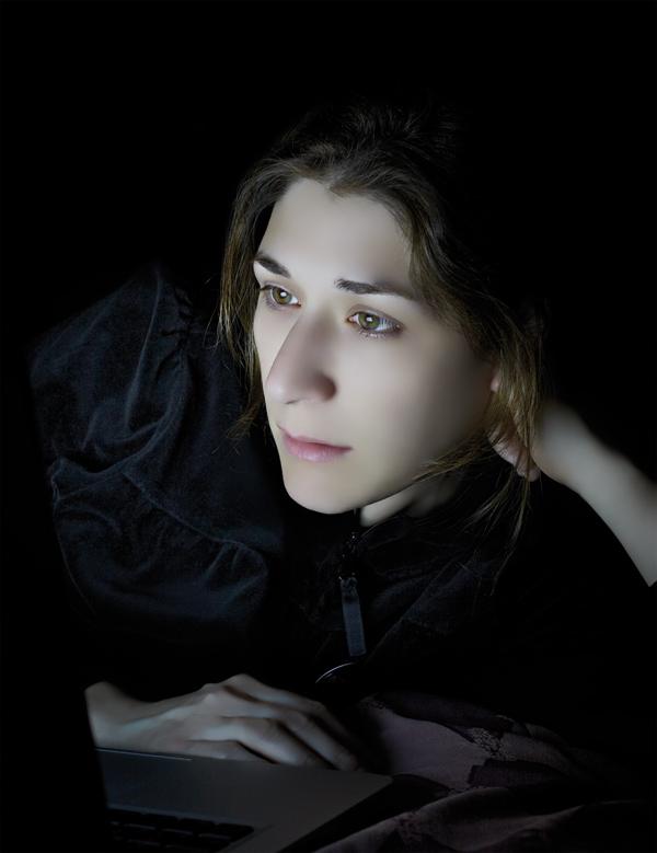 """Blanca Soto Arte, Madrid. / Paula Anta (EXPOSICIÓN INDIVIDUAL) / © PAULA ANTA. Esther. De la serie """"Lectoras"""", 2010, C-Print ."""