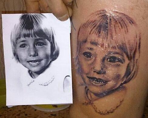 Una muestra de los tatuajes que puede realizar David García Pérez. © Fotografía: astorgaredaccion.com