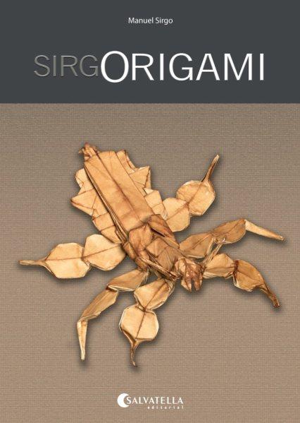 """Portada del libro """"Origami"""" de Manuel Sirgo."""