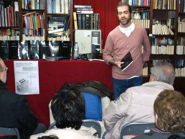 Miguel Velayos, autor de `Política sesions´.