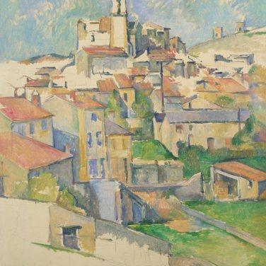 "Gardanne, 1885-1886. ""Cézanne site / non-site"". Museo Thyssen-Bornemisza."