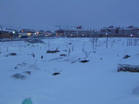 Vista invernal. © Fotografía: José Carlos Sanz Belloso.