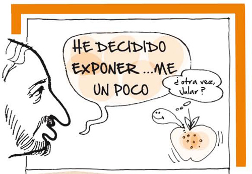Exposición de humor gráfico en el Museo de León.