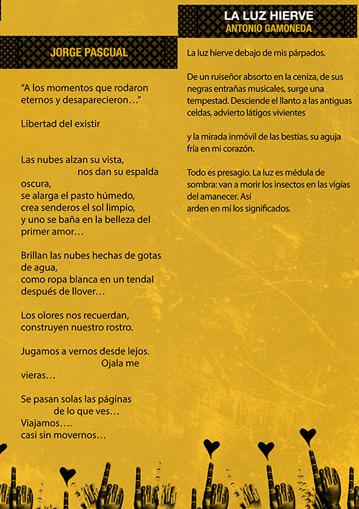 Poetas leoneses en el Pasquín.
