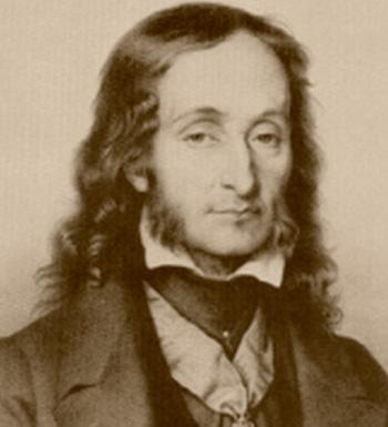El mítico violinista y compositor Niccolò Paganini.