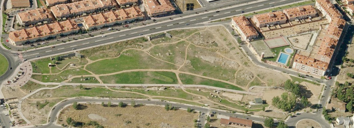 Fotografía aérea. Fuente: Bing Maps.