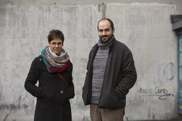 Emma Gascó y Martín Cúneo, autores del libro. © Fotografía: David Fernández.