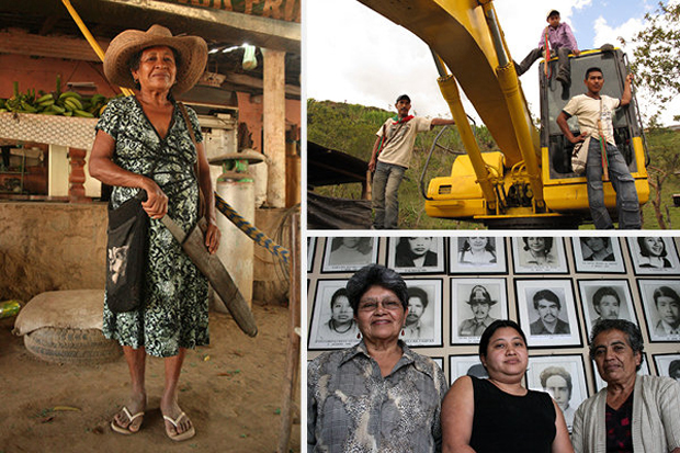 Imagen de algunos de los protagonistas de estas crónicas.