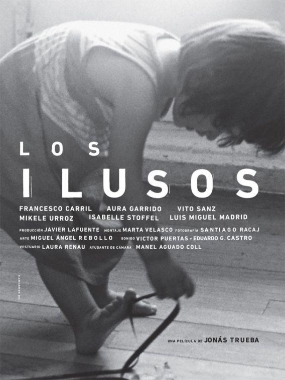 """Cartel de """"Los ilusos"""", de Jonás Trueba."""