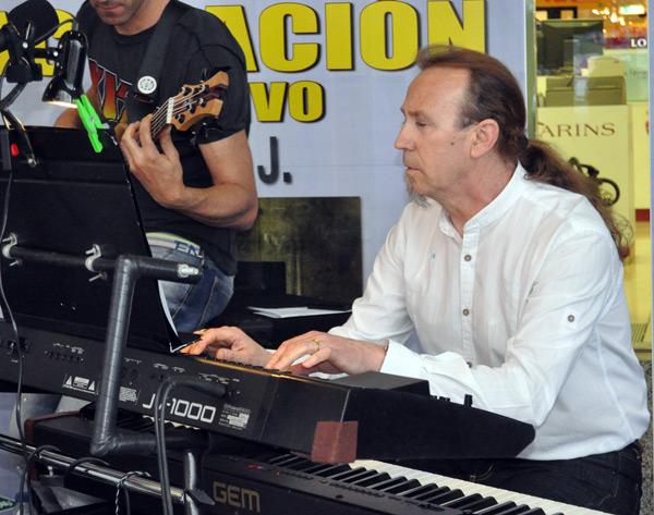 El músico Avan-J. © Fotografía: E. López.