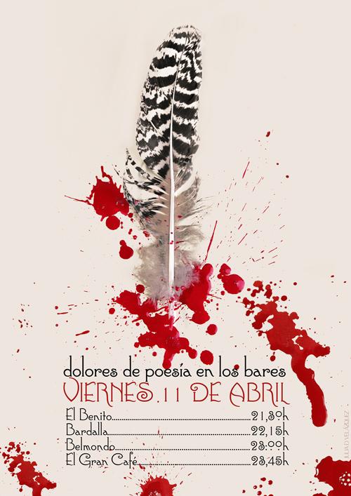 Cartel Dolores 2014. © Diseño: Julia D. Velázquez.