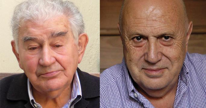 Los poetas Antonio Gamoneda y Xosé Luis Méndez Ferrín