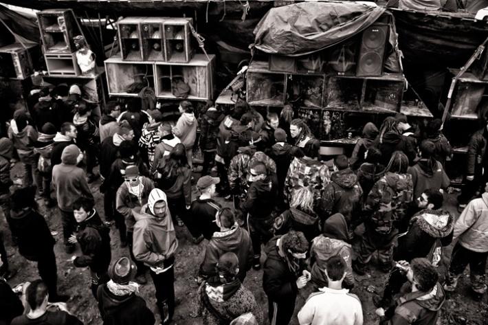 Fiesta Rave. © Fotografía:  Íñigo Echenique.