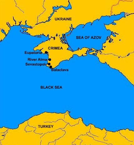 Península de Crimea.