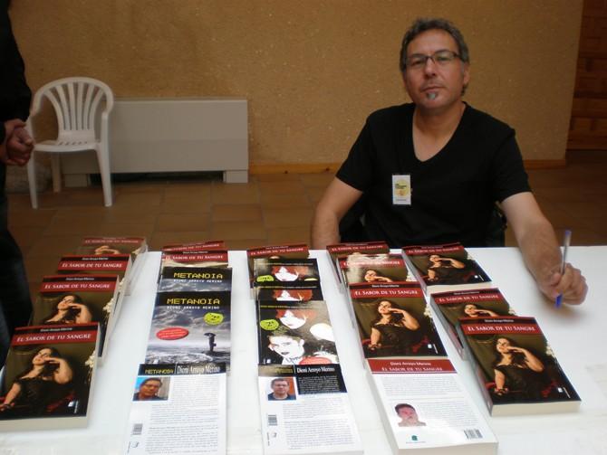 El escritor vallisoletano Dioni Arroyo