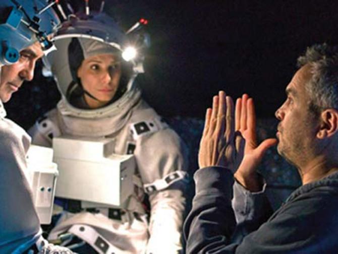 """""""Gravity"""", de Alfonso Cuarón."""