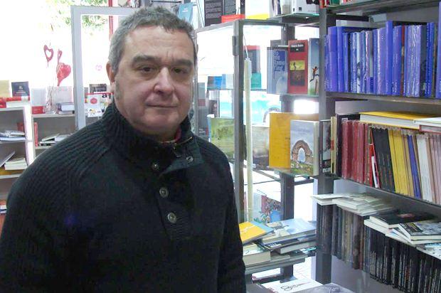 Enrique Señorans, una de las personas encargadas de coordinar estos recitales. Foto: L. Fraile.