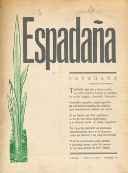Resultado de imagen de revista literaria espadaña