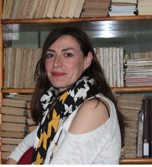La actriz Marta Ruiz de Viñaspre. © Fotografía: Magdalena Alejo.
