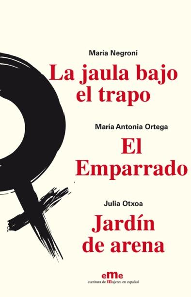 """Los tres primeros títulos de la colección """"eme"""" de Ediciones La Palma."""