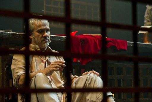 """Imagen de Carlos Tapia en el espectáculo """"Bruno XXI"""". © Fotografía: Marta Vidanes."""