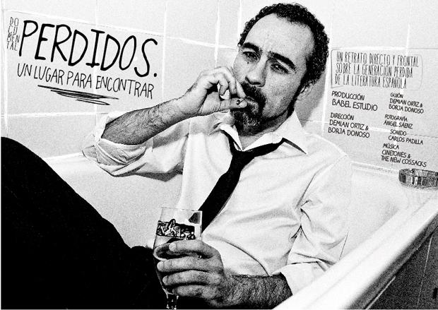 Pablo Cerezal, uno de los autores que aparecen en el documental. © Fotografía: Demian Ortiz.
