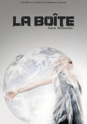 Cartel del espectáculo La Boîte.